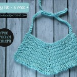 Baby Bib – 6 Mos + by Oombawka Design