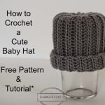 Easy Baby Hat ~ Free Crochet Patterns and Designs by Lisa Auch