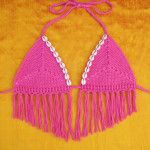 Sand Dollar Bikini Top by Gleeful Things