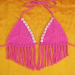 Sand Dollar Bikini Top by Gleeful Things