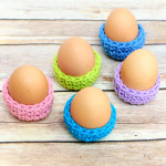 Easter Egg Cozies ~ Petals to Picots