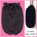 Crochet Bag Holder ~ CrochetN'Crafts