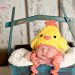 Easter Chicken Crochet Hat ~ Jenny and Teddy