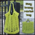 Easy Breezy Market Bag ~ CrochetN'Crafts