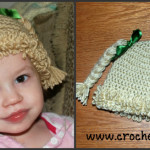 Crochet Inspired Cabbage Patch Hat with Video (All Sizes) ~ Amy - Crochet Jewel