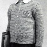 Star Stitch Cardigan Pattern | Size: 2 to 3 Years by Free Vintage Crochet