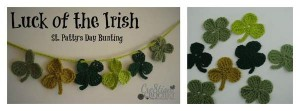 St. Patty's Days Bunting by Cre8tion Crochet