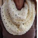 Lacy Infinity Scarf ~ Barb's Crochet Patterns