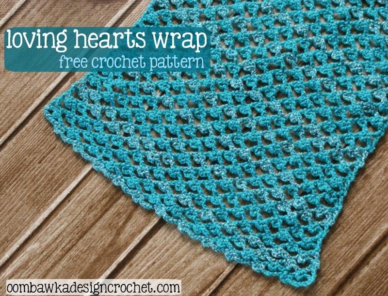 Loving Hearts Wrap by Oombawka Design