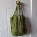 Oval Tote by CrochetN'Crafts