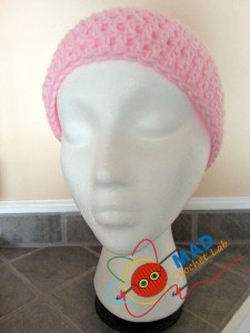 Super Simple Spiral DC Beanie by Tina Le Page of Mad Crochet Lab
