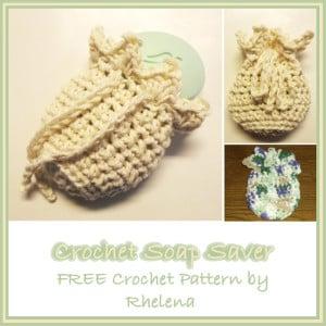 Crochet Soap Saver by CrochetN'Crafts