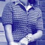 Americana Cardigan ~ Free Vintage Crochet