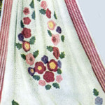 Victoriana Rose Wreath Afghan ~ Free Vintage Crochet
