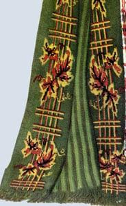 Vine & Trellis Afghan by Free Vintage Crochet