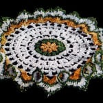 Pert Ruffle Doily ~ Free Vintage Crochet