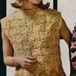 Cluster Stitch Shell by Free Vintage Crochet