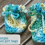 Super Simple Crocheted Gift Bags by Oombawka Design