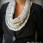 Swanky Glam Cowl ~ My Hobby is Crochet