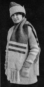 Scarf Pattern by Free Vintage Crochet