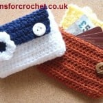Card Pouch ~ Patterns For Crochet
