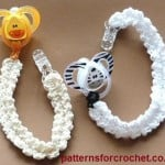 Pacifer/Binky Clip by Patterns For Crochet