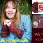 Olde World Wristers by Tera Kulling of Trifles N Treasures