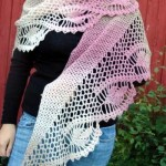 Dawn in the Woods Shawl ~ ABC Knitting Patterns