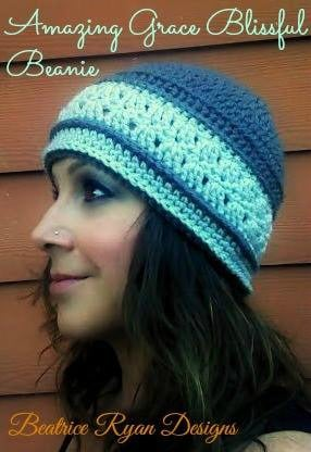 Amazing Grace Blissful Beanie by Beatrice Ryan Designs