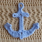 Anchor Applique ~ Amy Lynn Yarbrough - Crochet Spot