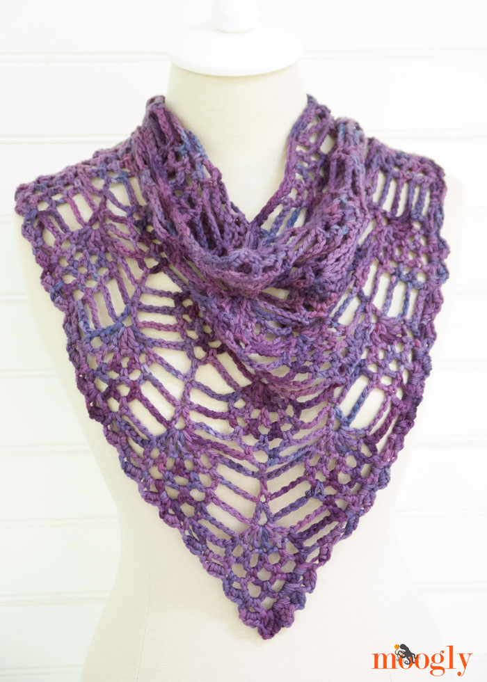 Berry Harvest Bandana Cowl by Moogly