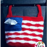 American Car Tote Bag by Snappy Tots