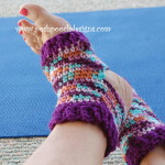 Easy Yoga Socks by Sara Sach of Posh Pooch Designs