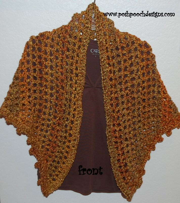 Everyday Shawl by Sara Sach of Posh Pooch Designs ...
