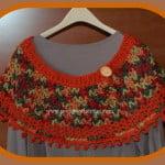 Fall Colors Ponchette – Poncho ~ Sara Sach – Posh Pooch Designs