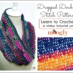 Dropped Doubles Stitch Pattern ~ Moogly