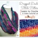 Dropped Doubles Stitch Pattern by Moogly