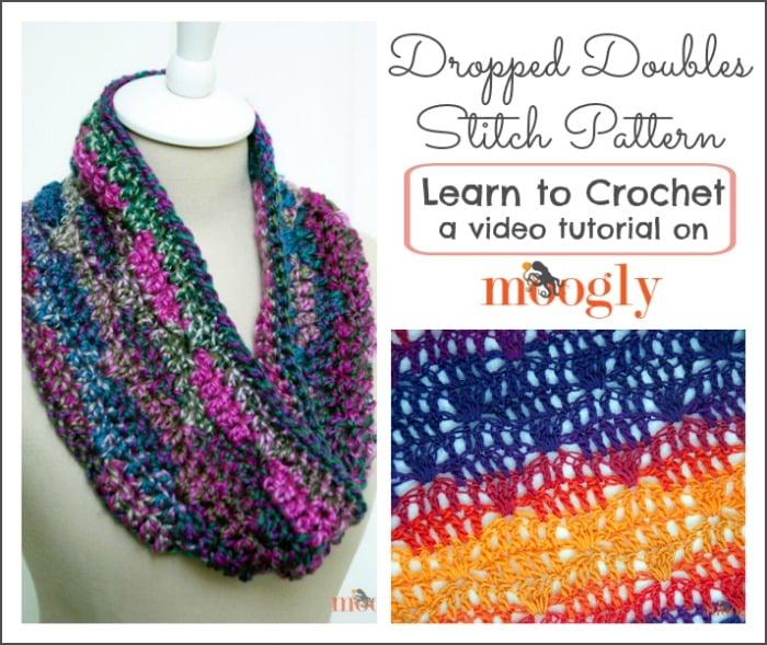 Dropped Doubles Stitch Pattern by Moogly