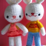 Charlie & Angel Bunny ~ Jenny and Teddy