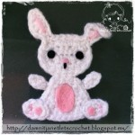 Bunny Applique by Damn it Janet, Let's Crochet!