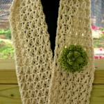Lacy Summer Scarf ~ Kathy Lashley - ELK Studio