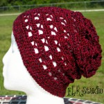 """Just to be Cute"" Slouchy Beanie ~ Kathy Lashley - ELK Studio"