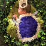 Kings Cape Infant Photo Prop by Cre8tion Crochet