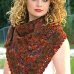 Pumpkin Spice – Shawl by Kathy Lashley of ELK Studio
