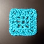 V Stitch Granny Square and or Motif by Manda Proell of MandaLynn's Crochet Treasures