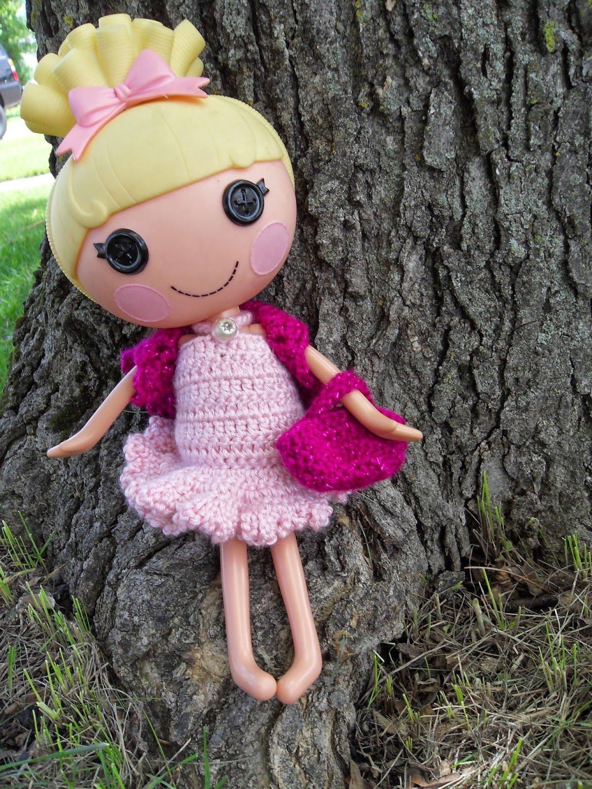 LaLa Loopsy Lacy Shrug/Bolero and Purse by Manda Proell of MandaLynn's Crochet Treasures