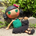 Summer Bell LaLa Loopsy Dress by Manda Proell of MandaLynn's Crochet Treasures