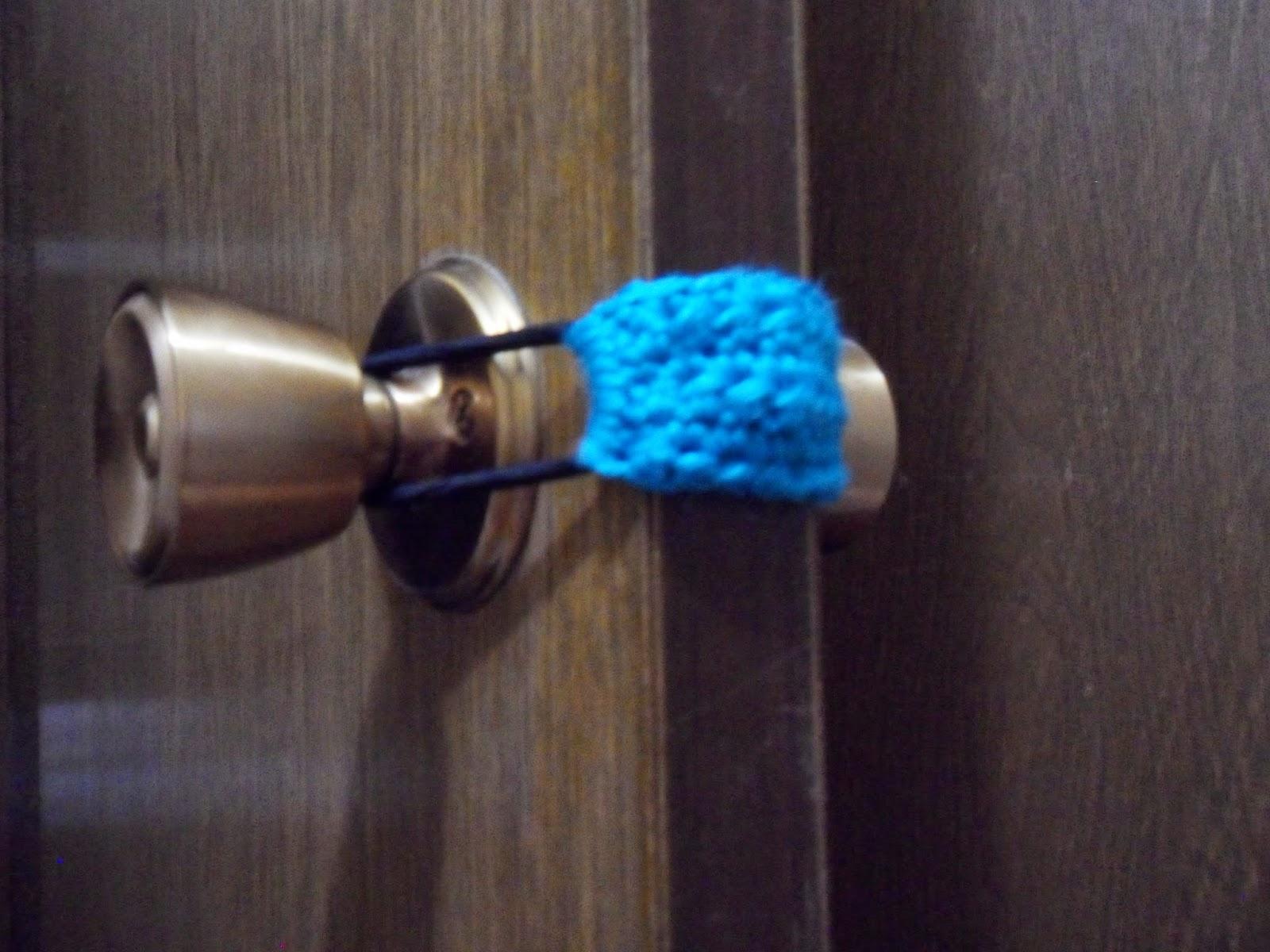 10 Minute Door Shusher/Cozy by Manda Proell of MandaLynn's Crochet Treasures