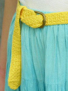 The Polly Belt by Amy Lynn Yarbrough for Crochet Spot