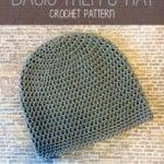 Basic Men's Hat by Rebecca Langford of Little Monkeys Crochet